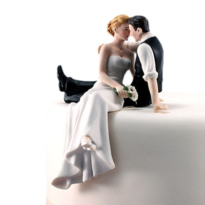 Resin wedding cake toppers