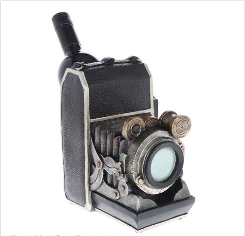 Old Camera wine Holder