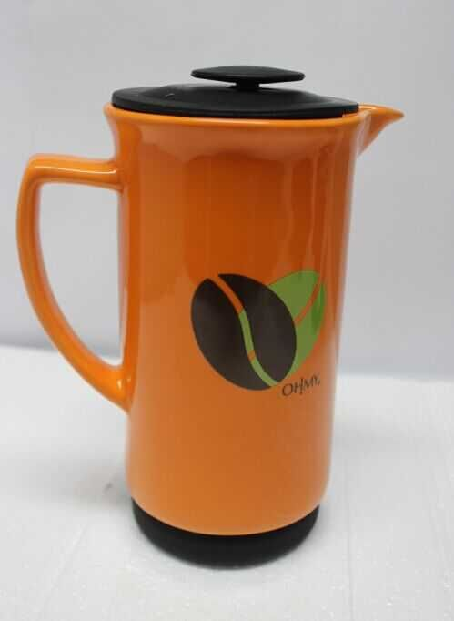 orange coffee press