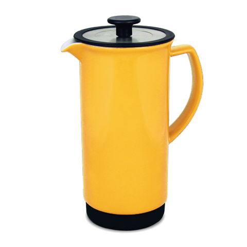 yellow coffee press